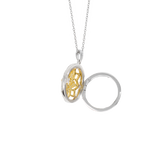 Elsie Locket Necklace 14K Gold