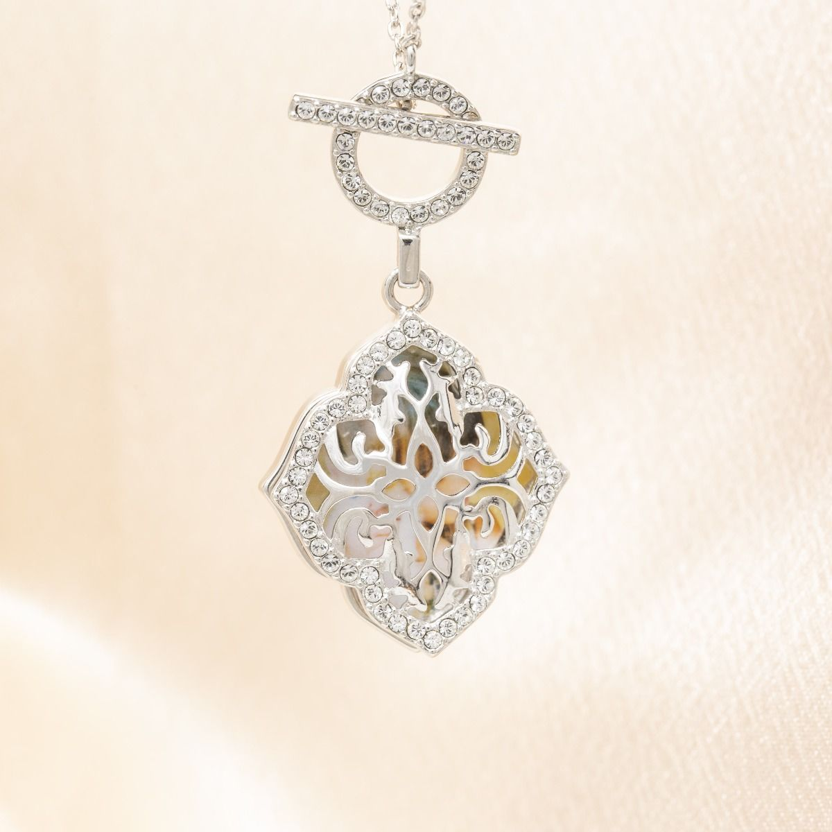 Katarina Toggle Locket Necklace