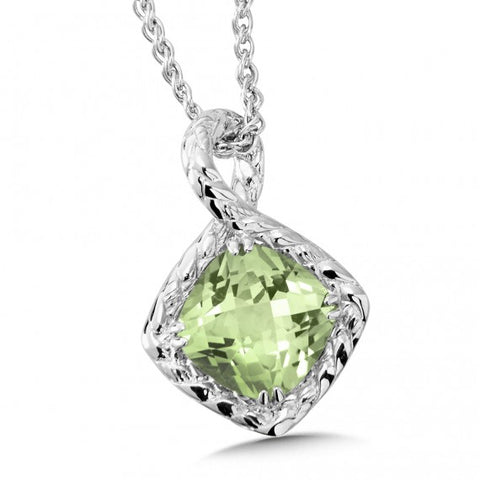 Color SG -  Green Amethyst Pendant