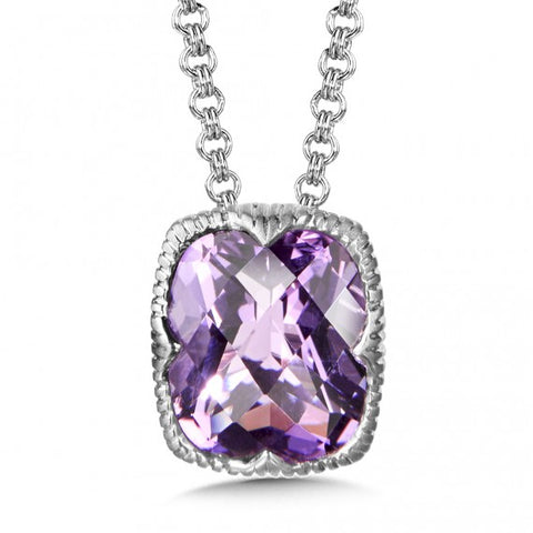 Color SG - Amethyst Pendant