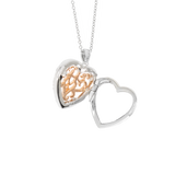 Mary Locket Necklace 14K Rose Gold