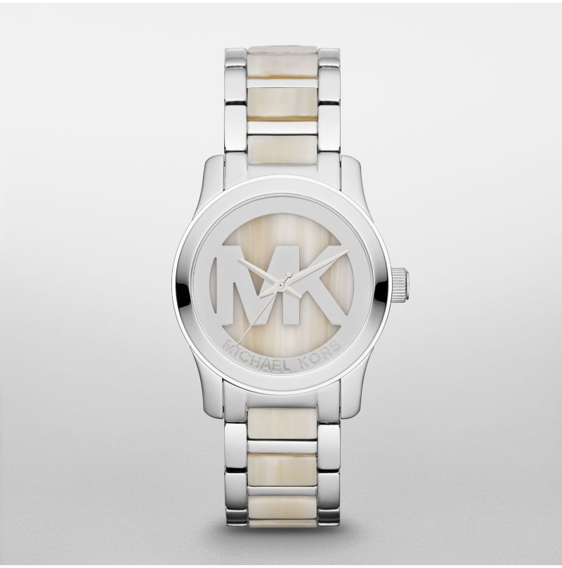 Michael Kors Alabaster Runway Women's Watch