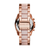 Michael Kors Women's Rose Gold-Tone Blair Glitz Watch