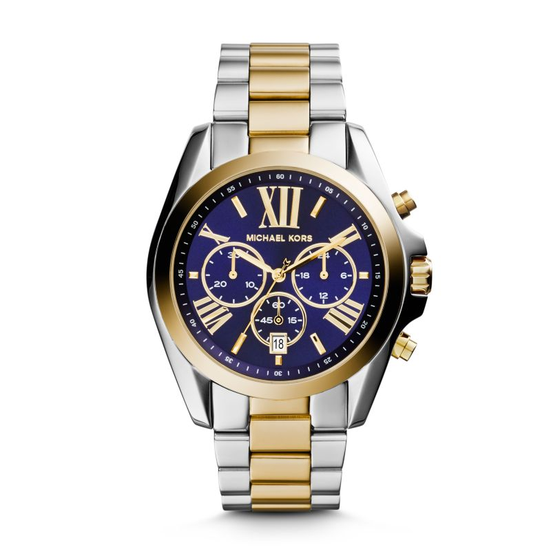 Michael Kors Silver-Tone Bradshaw Women's Watch