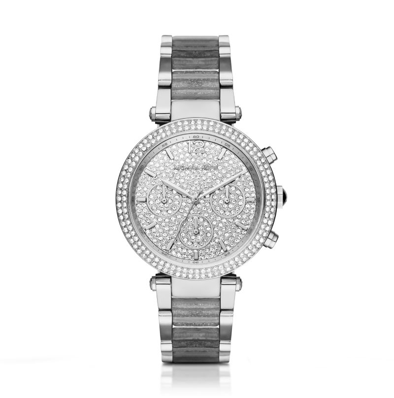 Michael Kors Silver Parker Women's Watch
