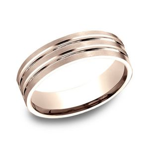 Benchmark 14k White Gold Men's Band
