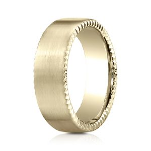 Benchmark 14k Riveted Edge Men's Band