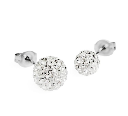 14KT Fireball Stud Earrings