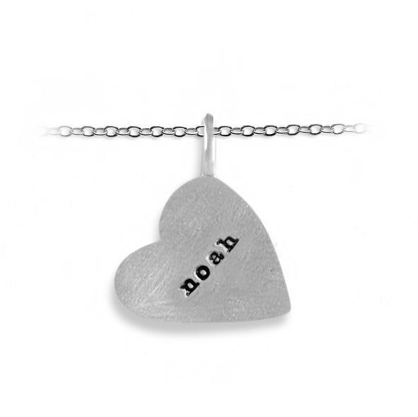 Slate & Tell - Personalized Large Heart Pendant