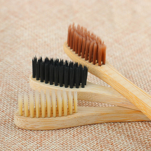 Environmental Bamboo Charcoal Toothbrush - Medium Soft Bristle