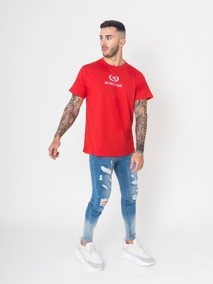 MG Reflective T-Shirt | Red