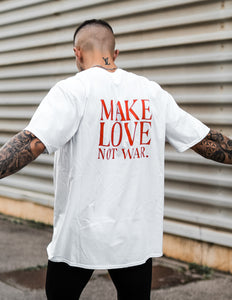 Camiseta blanca Make Love