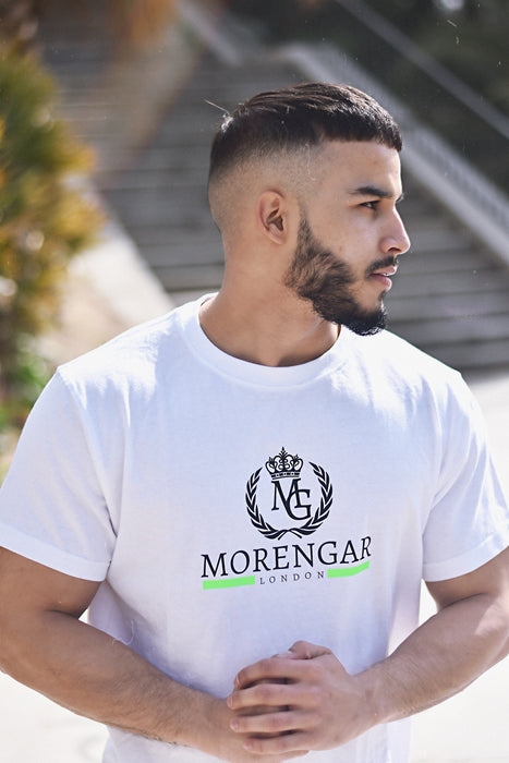 Morengar London Line Neon - White T-shirt