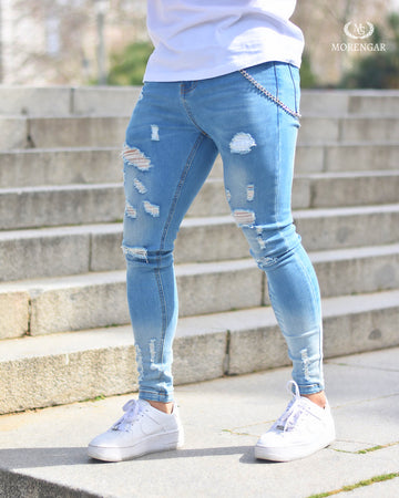 BLUE FURY JEANS