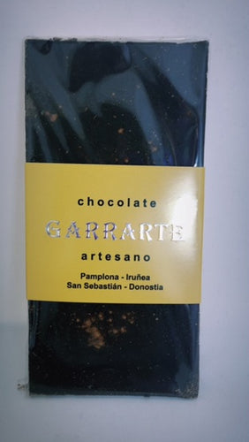 Tableta de chocolate 70% cacao con canela