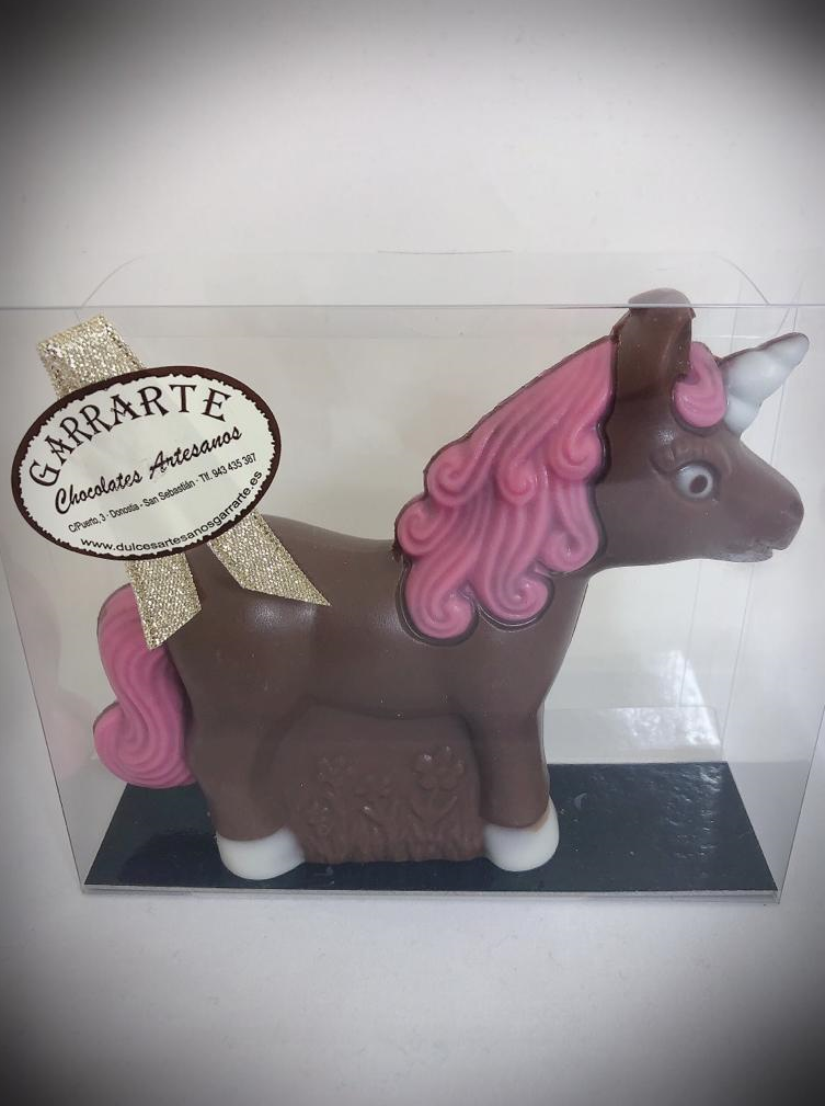 Unicornio de chocolate