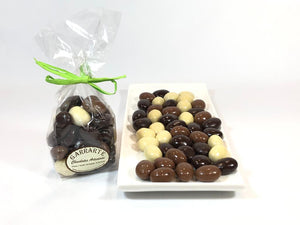 Almendras tres chocolates