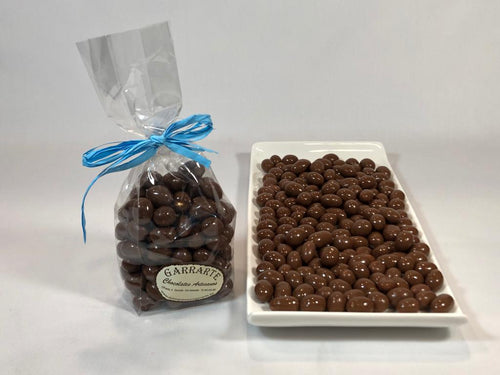 Cacahuetes con chocolate