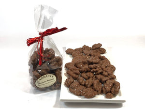 Nueces con chocolate