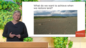A Business Approach to Sustainable Landscape Restoration