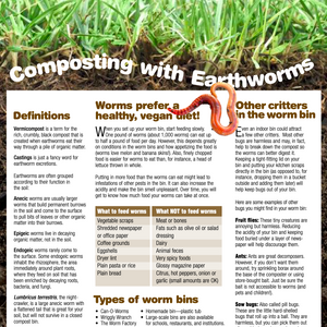 Article - Composting With Earthworms