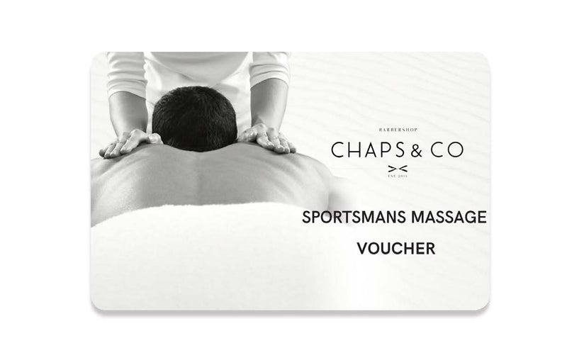 Sportsmans Massage Voucher