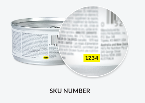 Hills Product Recall SKU Location