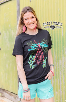 Crazy Train Home Girl tee