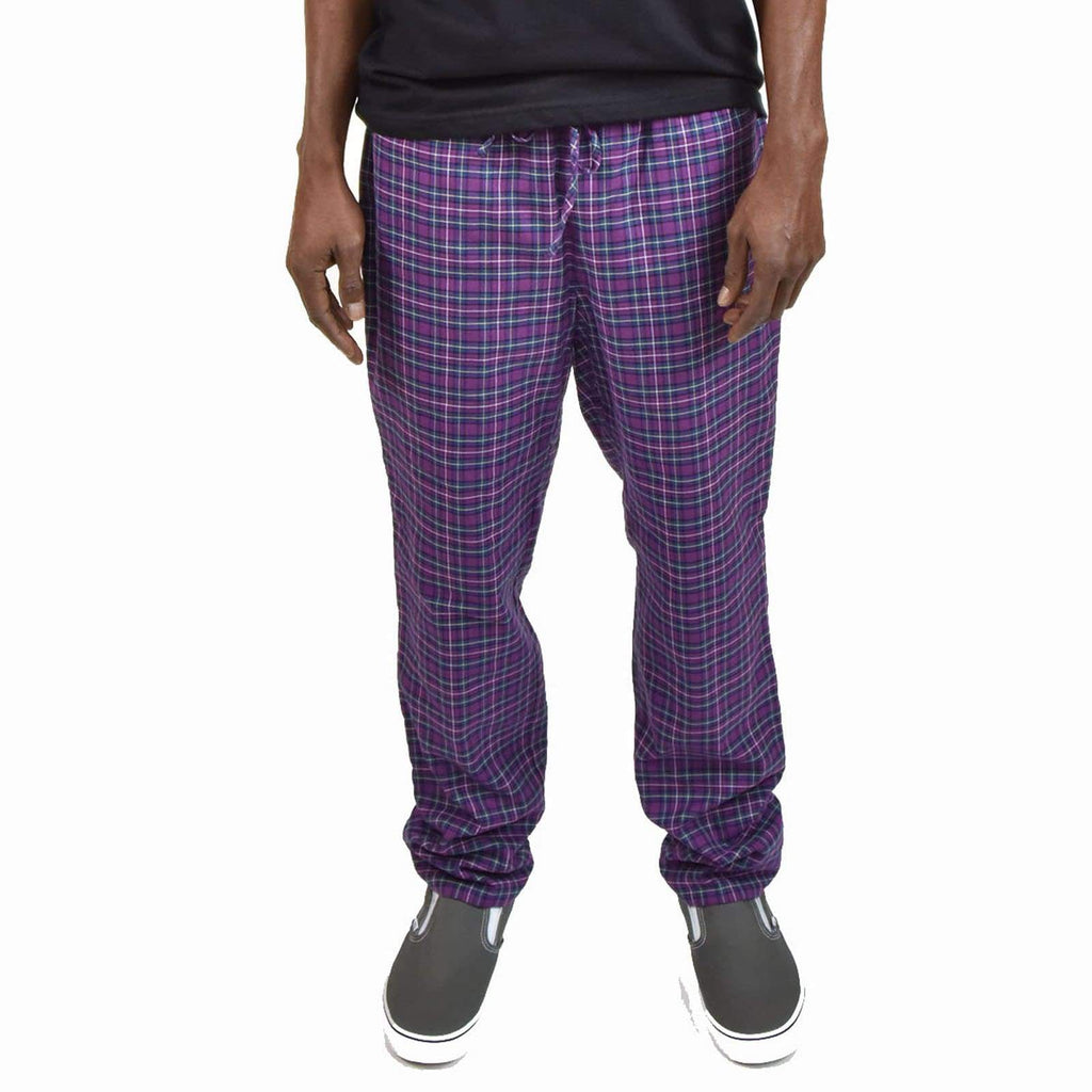 2-Ply Pant - Purple Plaid #1 - SKIDZ