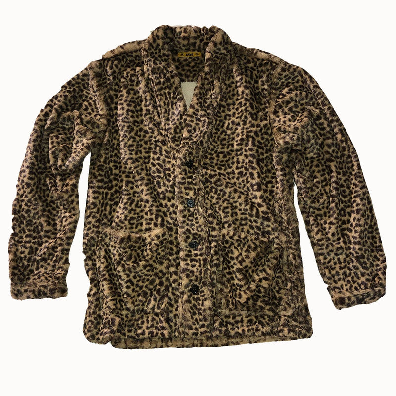 Smoking Jacket - Baby Cheetah - SKIDZ NYC