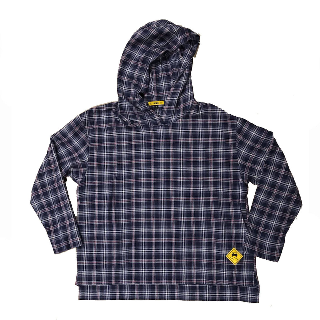 30% OFF SALE!  Navy Plaid - SKIDZ