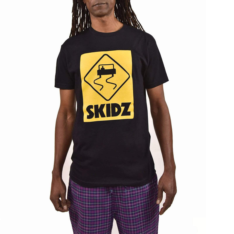 Black Logo T-Shirt - SKIDZ NYC