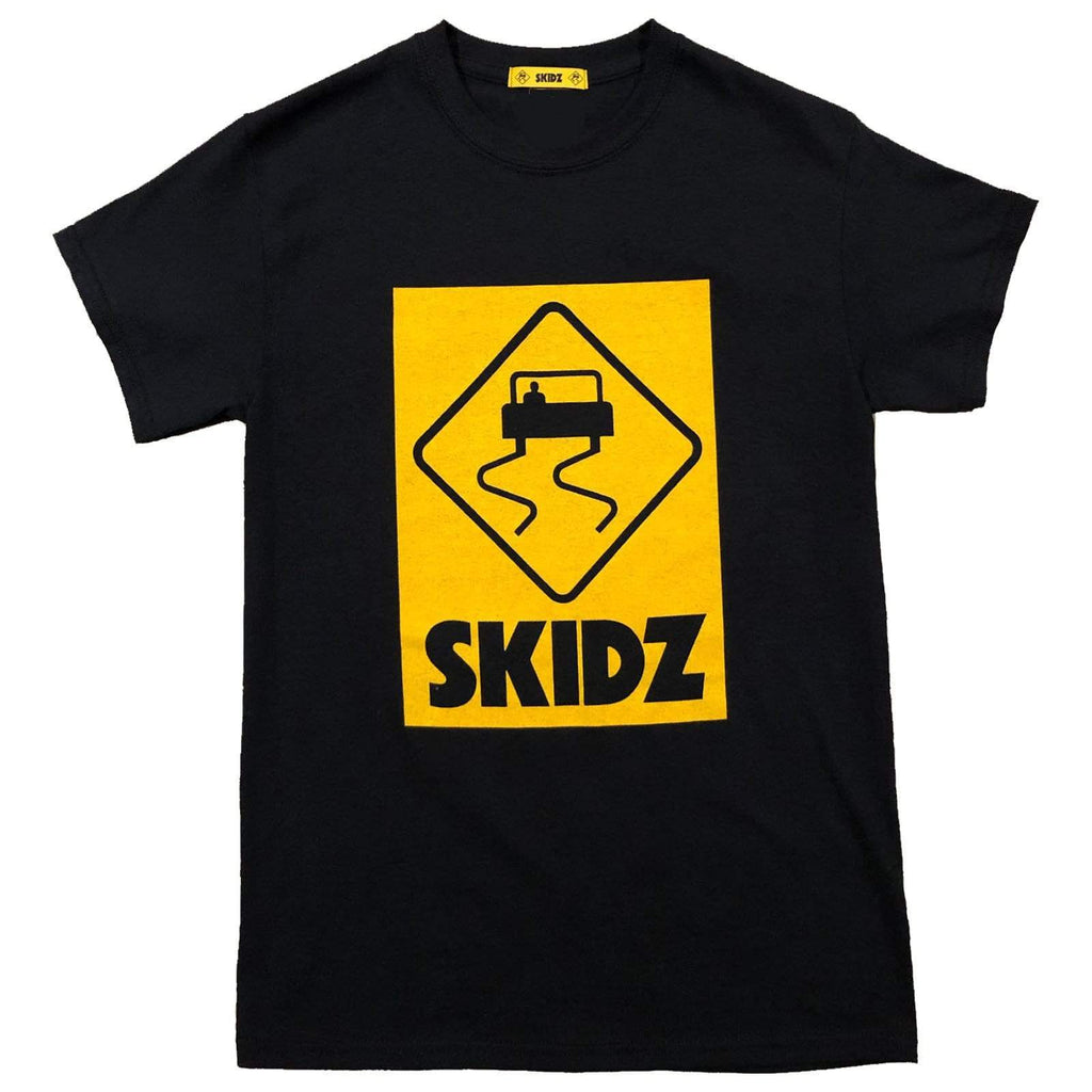 Black Logo T-Shirt - SKIDZ