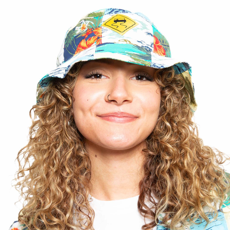 Skidz Fun Stuff Maui Wowie Reversible Bucket Hat