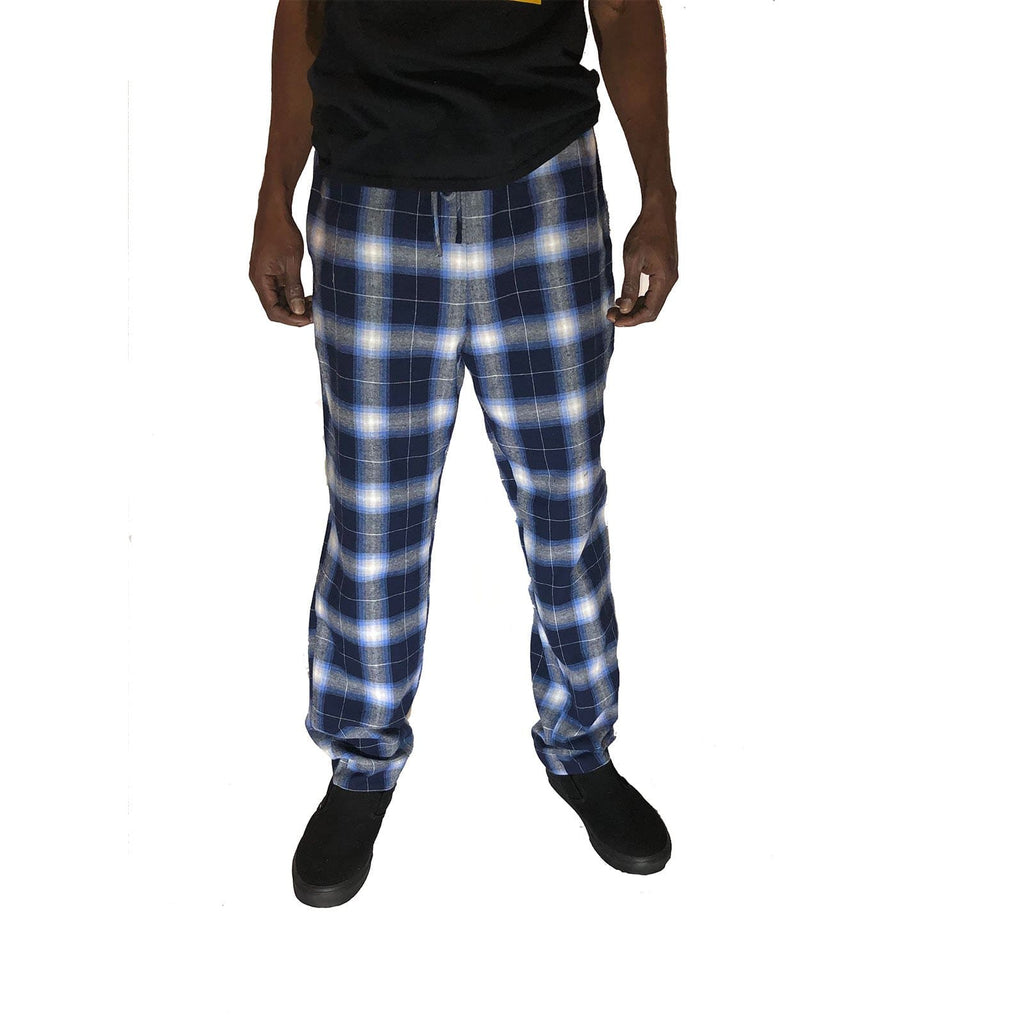 2-Ply Pant - Navy Ombre Plaid #1 - SKIDZ