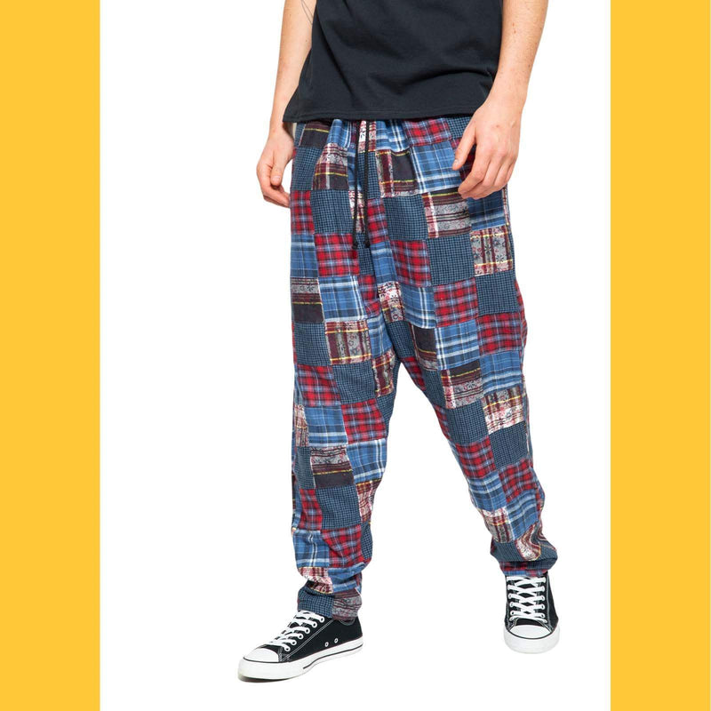 Skidz Pants U.S. Blues Patchwork