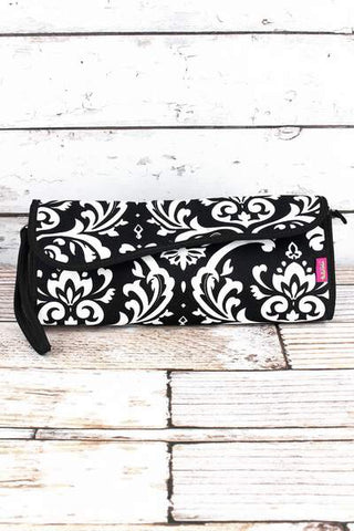 Damask Flat Iron Case