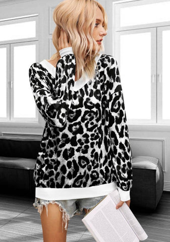 Black/White long sleeve