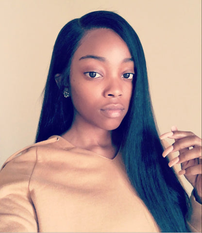 Silky Straight Lace Wig Unit
