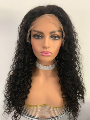 Colossal Curly Lace Wig Unit