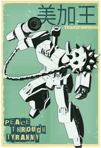 PEACE THROUGH TYRANNY