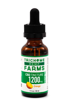 1200mg Orange CBD Tincture