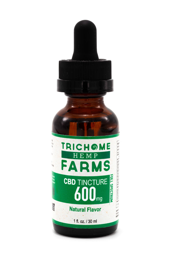 600mg Natural CBD Tincture