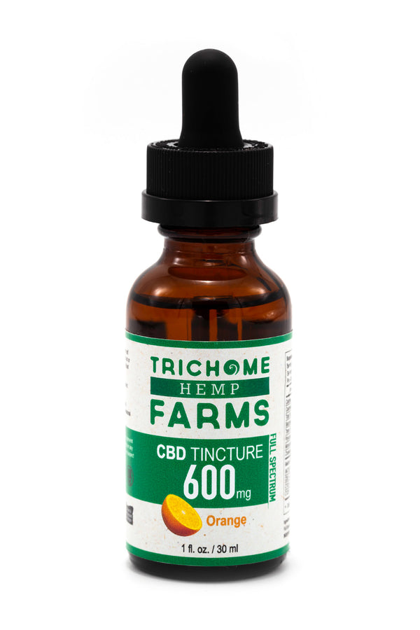 600mg Orange CBD Tincture
