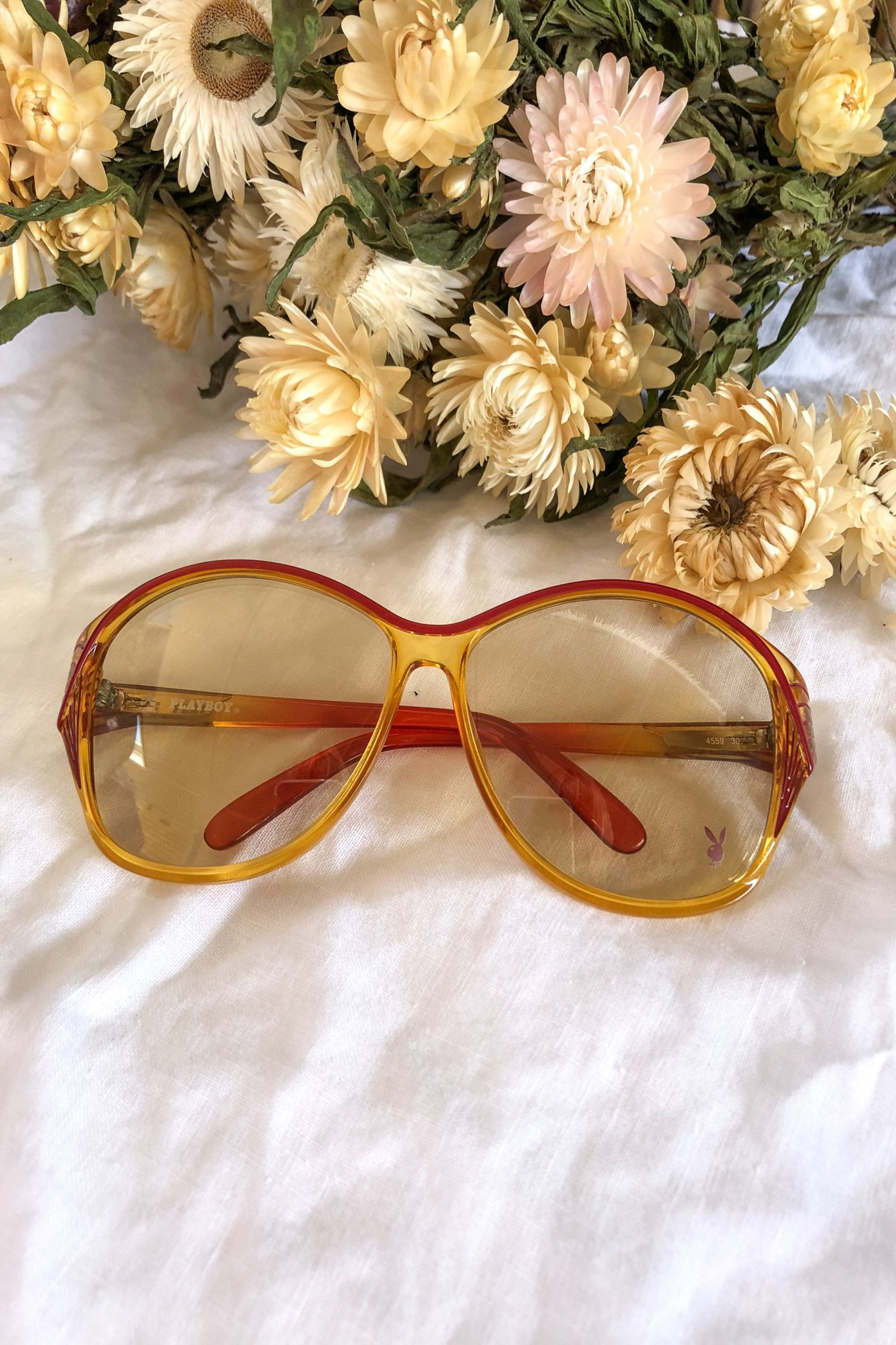 Vintage 1970s Oversized Playboy Sunglasses