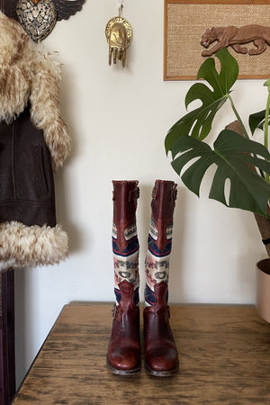 RARE Freebird by Steven Cabal Quixote Blanket Boot - 7
