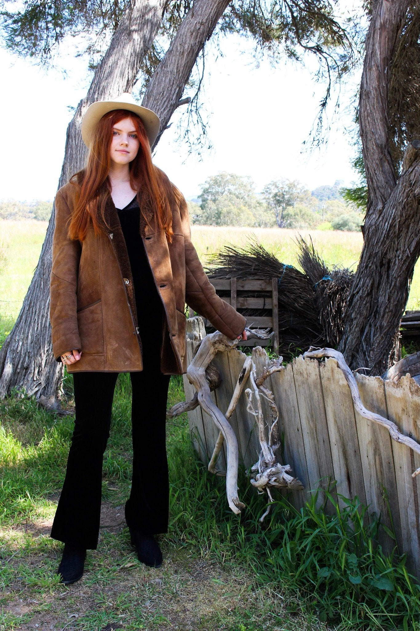 Shearling Afghan Coat - Sheepskin Penny Lane Coat - Almost Famous Sheepskin Jacket - Southwestern Jacket - Sheepskin Coat
