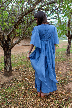 Wedding Guest Dress - Boho Maxi Dress - Floral Maxi Dress Wedding - Long Evening Dress - Boho Evening Dress - Hippie Bridesmaid Dress