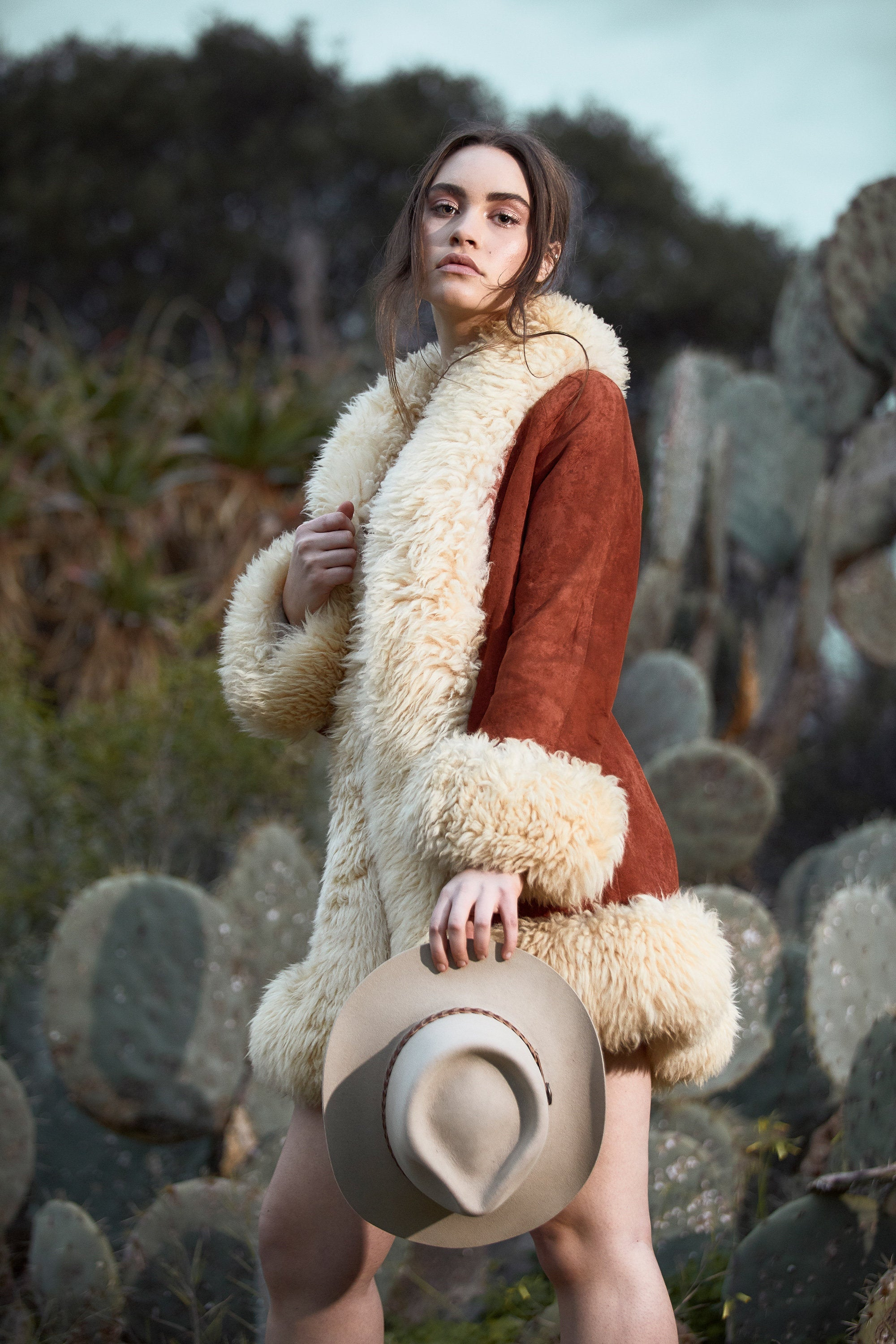 Shearling Afghan Coat - Vintage Shearling Coats - Penny Lane Coat - Sheepskin Coat - Almost Famous Coat - Boho Coat For Christmas