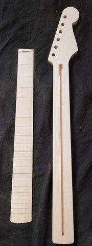 Birdseye Maple S-Style Guitar Neck